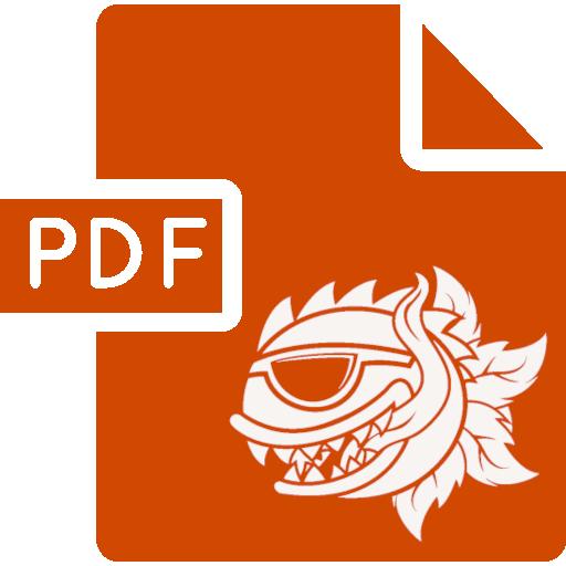 Icon indicating PDF File