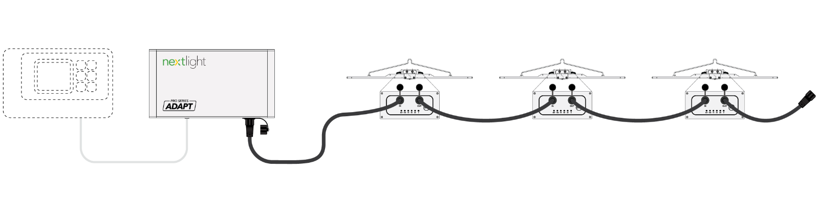 NextLight Adapt Pro Lighting System Chain